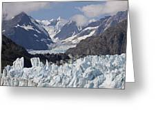 Perfect Day At Margerie Glacier Greeting Card