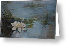 Perfect Lotus - Lmj Greeting Card