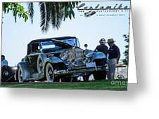 Perfect Packard Greeting Card