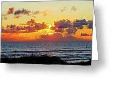 Perfect Sunset Cannon Beach I Greeting Card