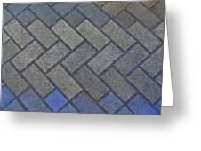 Perfect Tiling Greeting Card by Roberto Alamino