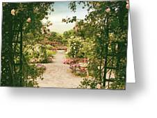 Pergola View Greeting Card