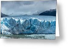 Perito Moreno Glacier Pano Greeting Card