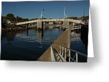 Perkins Cove 1 Greeting Card