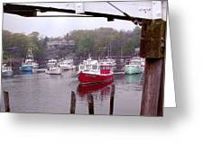 Perkins Cove Greeting Card