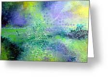 Permanent Green Greeting Card by Lolita Bronzini