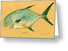 Permit Fish Greeting Card