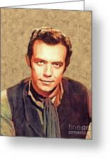 Pernell Roberts, Vintage Actor Greeting Card