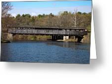 Perrine's Bridge In Spring #2 Greeting Card
