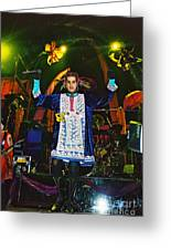Perry Farrell Greeting Card