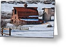 Perry Park Barn Greeting Card