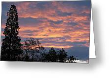 Perrydale Sunrise Greeting Card