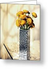 Persian Buttercup Greeting Card