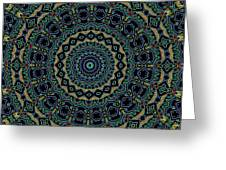 Persian Carpet Greeting Card