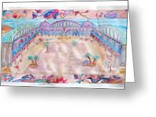 Persian Palace Greeting Card