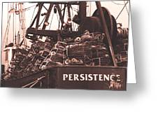 Persistence Greeting Card