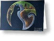 Perspective Harmony Greeting Card