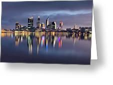 Perth My Beautiful City Greeting Card