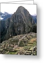 Peru: Machu Picchu Greeting Card