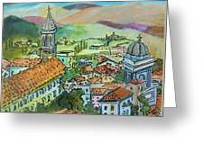 Perugia Italy Greeting Card