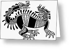 Peruvian Chimera Greeting Card