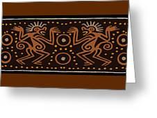 Peruvian Inca Indians Greeting Card
