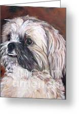 Pet Portrait Artist Painter Greeting Card