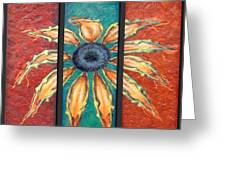 Petals Greeting Card