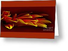 Petals Like Fingertips By Kaye Menner Greeting Card