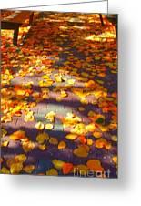 Petals Of Faith Greeting Card