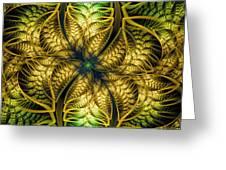 Petals Of Life Greeting Card