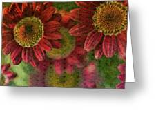 Petals On Parade Greeting Card