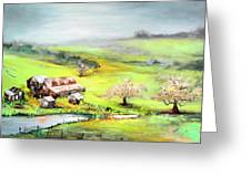 Petaluma Fogbreak Greeting Card