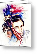 Pete Townshend Greeting Card