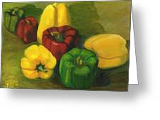 Peter Pifer Has A Lot Of Peppers To Choose From Greeting Card