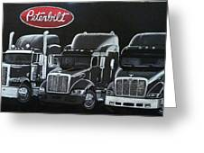 Peterbilt Trucks Greeting Card