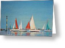 Petole A Chausey Greeting Card