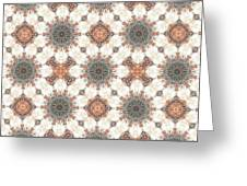 Petrified Folk Tapestry Greeting Card