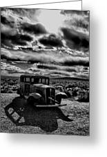 Petrified Forest Car  Greeting Card