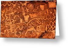 Petroglyphs Greeting Card