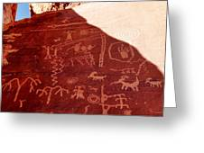 Petroglyphs Greeting Card