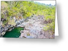 Petrohue River In Vicente Perez Rosales National Park Near Puerto Montt-chile Greeting Card