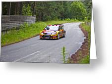 Petter Solberg/chris Patterson Greeting Card