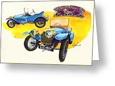 Peugeot Bebe Greeting Card