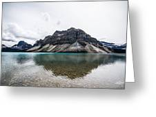 Peyto Lake Alberta Greeting Card by Adnan Bhatti