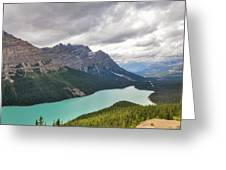 Peyto Lake - Banff National Park, Canada Greeting Card