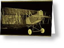 Pfalz D.xii Fighter Greeting Card