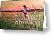 Pha In The Field  Greeting Card