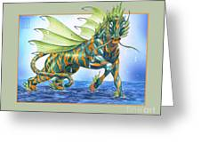 Phantasmal Mount Greeting Card
