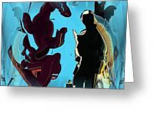 Phantasy Vision Greeting Card
